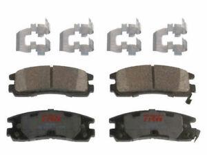 For 2008-2009 Buick LaCrosse Brake Pad Set Rear TRW 82835GF Super Ceramic