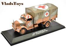 Eaglemoss 1:43 Opel Kfz.305 Blitz Ambulance German Army DAK El Alamein Egypt 42'