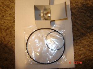 Super 8 ELMO ST-600 M-O,D Projector Belts, 2 Belt Set ,& 1 New Lamp/Bulb