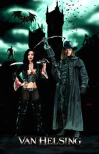 Van Helsing Kate Beckinsale Hugh Jackman movie  11x17 signed print Dan DeMille