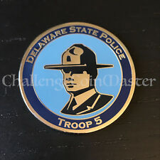 C33 Delaware State Police Troop 5 Highway Patrol Challenge Coin