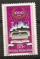 ROMANIA 1972 BUILDING OF SATU MARE SC # 2372 MNH