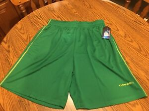 Oregon Ducks NCAA Colosseum Men's Green Shorts, Size Large - New With Tags