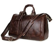 Leather duffel bag.Leather travel bag.Leather overnight bag.Leather shoulder bag
