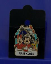 DISNEY PIN~DCL FIRST CLASS NAME PIN~ Cruise Line 12941 Mickey Minnie Pluto ~ NEW