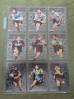 #T12. 1995 ORIGIN MEN OF STEEL RUGBY LEAGUE CARD SET, OS1 to OS9