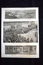 Prisonniers, Tahure, Dans le bois du Trou Bricot WW1 Guerra 1914 - 1918