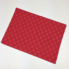 Dot Appeal Red Holiday Christmas Single Tapestry Placemat
