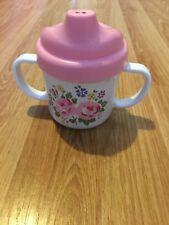 Cath Kidston Toddler Beaker Pink Flowers