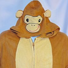 Small Medium Monkey Suit Pajamas Cosplay Costume One Piece Footless
