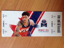 Used Washington Wizards Tickets 12/17/2016 vs New York Knicks Kelly Oubre Jr.