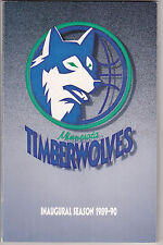 Minnesota Timberwolves media guide complete set first 18 seasons high grade