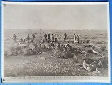 FOTO SECONDA GUERRA MOND. 1942 PRIGIONIERI ANGLOSASSONI TRUPPE ITALIA A.S. 3/17