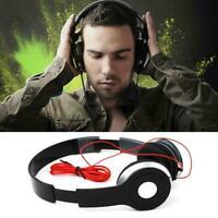 Faltbare Stereo-Over-Ear-Kopfhörer im DJ-Stil Headset Kopfhörer-Sound Nett P3V8
