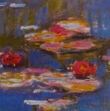 Claude MONET WATER LILLIES Detail I 1916 Offset Lithograph
