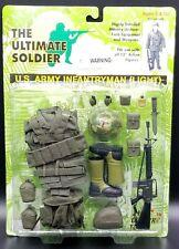 "1:6 Ultimate Soldier Vietnam US Army InfantryMan Light Carded 12"" Uniform Set"