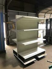 Streater Gondola Shelving Lot Metal Shelves Convenience Grocery Store Fixtures