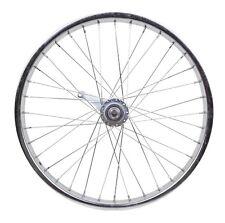 "New 20"" Coaster Brake Steel Chrome BMX Youth Bike Rear Wheel"