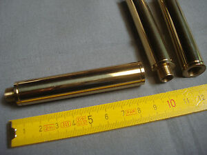 1 tube chandelle rallonge en laiton poli 8,1 cm pour luminaires  (réf L8)
