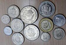 Venezuela: Set of 12 Different Coins