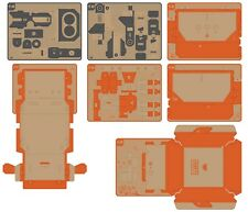 Replacement parts for Nintendo LABO Robot Kit - Visor + Feet + Main Body + Shell