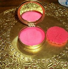 DU BARRY Richard Hudnut Rouge Make Up Compact, Complete w Mirror, Puff & Makeup!