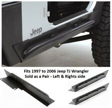 Jeep XRC Rock Sliders with Tube Step for 97-06 Jeep TJ Wrangler