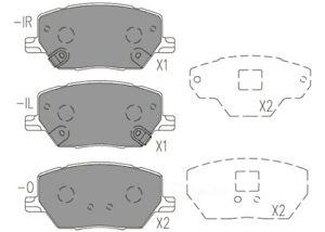 Disc Brake Pad Set-Premium Ceramic Pads Front Dash 4 Brake CFD1811