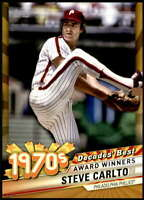 Steve Carlton 2020 Topps Decade's Best Series 2 5x7 Gold #DB-37 /10 Phillies