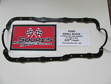 Ford Small Block Oil Pan Gasket-1 piece (For 289 & 302)