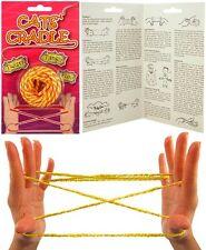 Classic Cat's Cradle VINTAGE BAMBINI GIOCATTOLO Fune W / istruzioni incluse