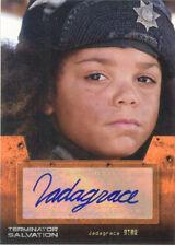 """Terminator Salvation - Jadagrace as """"Star"""" Autograph Card"""