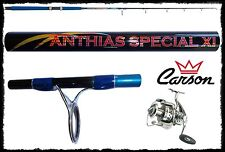 kit canna anthias 250g + mulinello domino 5000 vertical jigging inchiku kabura
