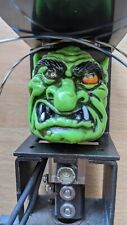 Original Medieval Madness Pinball Troll Assembly with LED eyes mod