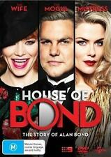 HOUSE OF BOND, The Story of Alan Bond  (DVD, 2017) NEW