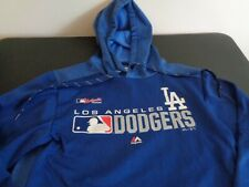LOS ANGELES DODGERS Baseball MAJESTIC Authentic Collection S Hoodie Sweatshirt
