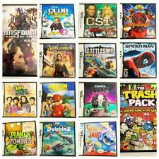 Nintendo DS   29 Games Pick and Choose Video Games