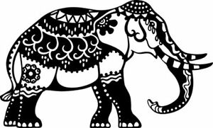 Marabu Silhouette Stencil, #02889, Elephant