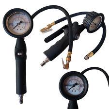 Manometro ad aria x compressore gonfiaggio pressione gomme liquido anti-shock