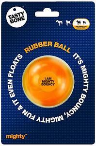 Tasty Bone Mighty Ball Dog Toy