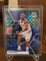 2019-20 Panini Mosaic Bobby Portis Genesis Prizm Card #111 Knicks SSP