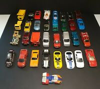 Lot of (33) Misc. Die Cast Cars, Maisto, Sports Cars,Muscle Cars,Truck & More.E1