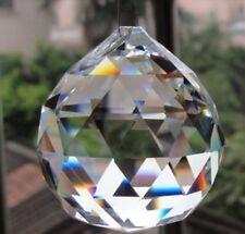 H/&D 20 St/ück Golden Kristall Sonnenf/änger Eiszapfen Kronleuchter Prismen Glas Anh/änger Anh/änger
