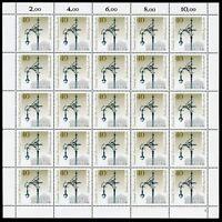 Berlin 25er Bogen MiNr. 604 postfrisch MNH Formnummer 1 (BW4686
