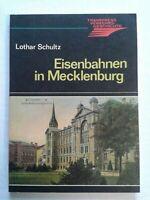 Eisenbahnen im Mecklenburg Schwerin transpress Verkehrsgeschichte 1986