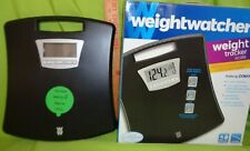 WEIGHT WATCHERS CONAIR Black Weight Tracking Scale 4 user memory NEW sealed