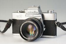 Minolta SRT super Filmkamera Körper MC Rokkor-PF 1:1 .7 F = 50mm Objektiv F/S 966f34