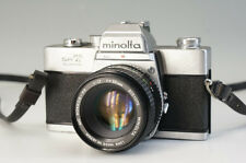 MINOLTA SRT SUPER Film Camera Body MC ROKKOR-PF 1:1.7 F=50mm Lens F/S 966f34