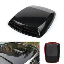 Universal 3D Car Air Flow Intake Hood Scoop Vent Bonnet Cover Plastic Sticker