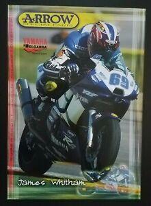 Vintage Poster James Whitham 2002 Yamaha R6 Supersport Belgarda